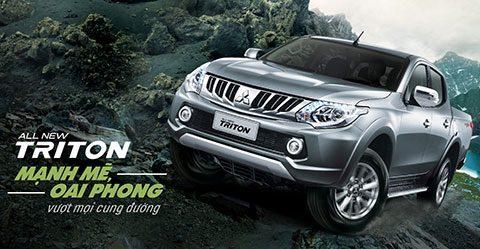 Mitsubishi Triton MIVEC được giới thiệu với động cơ hoàn toàn mới