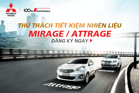 "The ""Challenge fuel economy"" with Mitsubishi Mirage – Attrage"