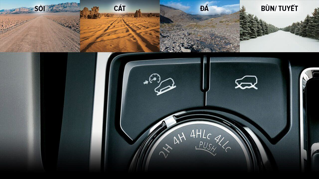 4 chế độ Off-Road