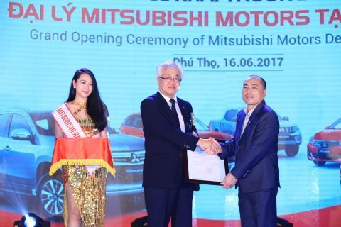 Mitsubishi Motors Vietnam khai trương đại lý tại Việt Trì – Phú Thọ