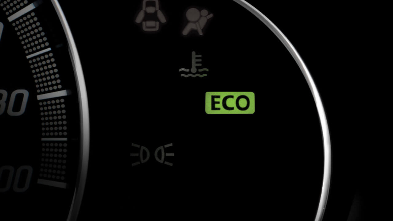 ECO lamp indicator