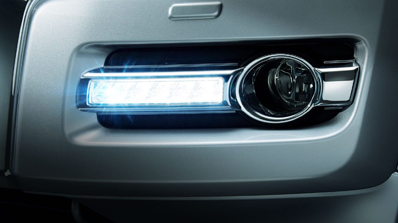 L.E.D Daytime Runing Light and Front Fog Lamp