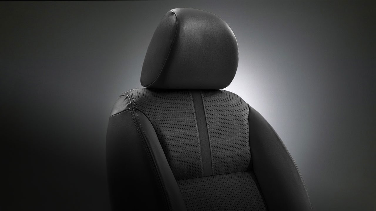 Luxurious leather seat
