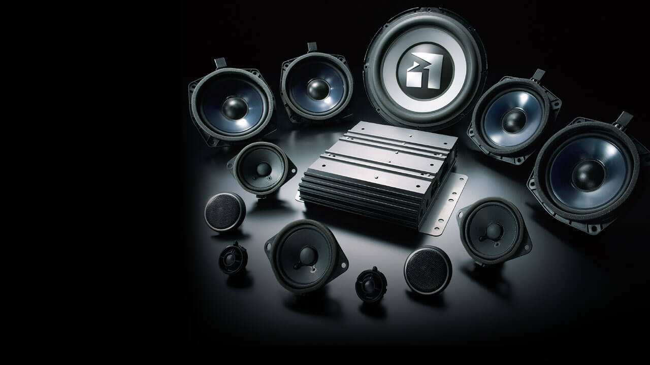 ROCKFORD 6-disk and 12-spokers audio system
