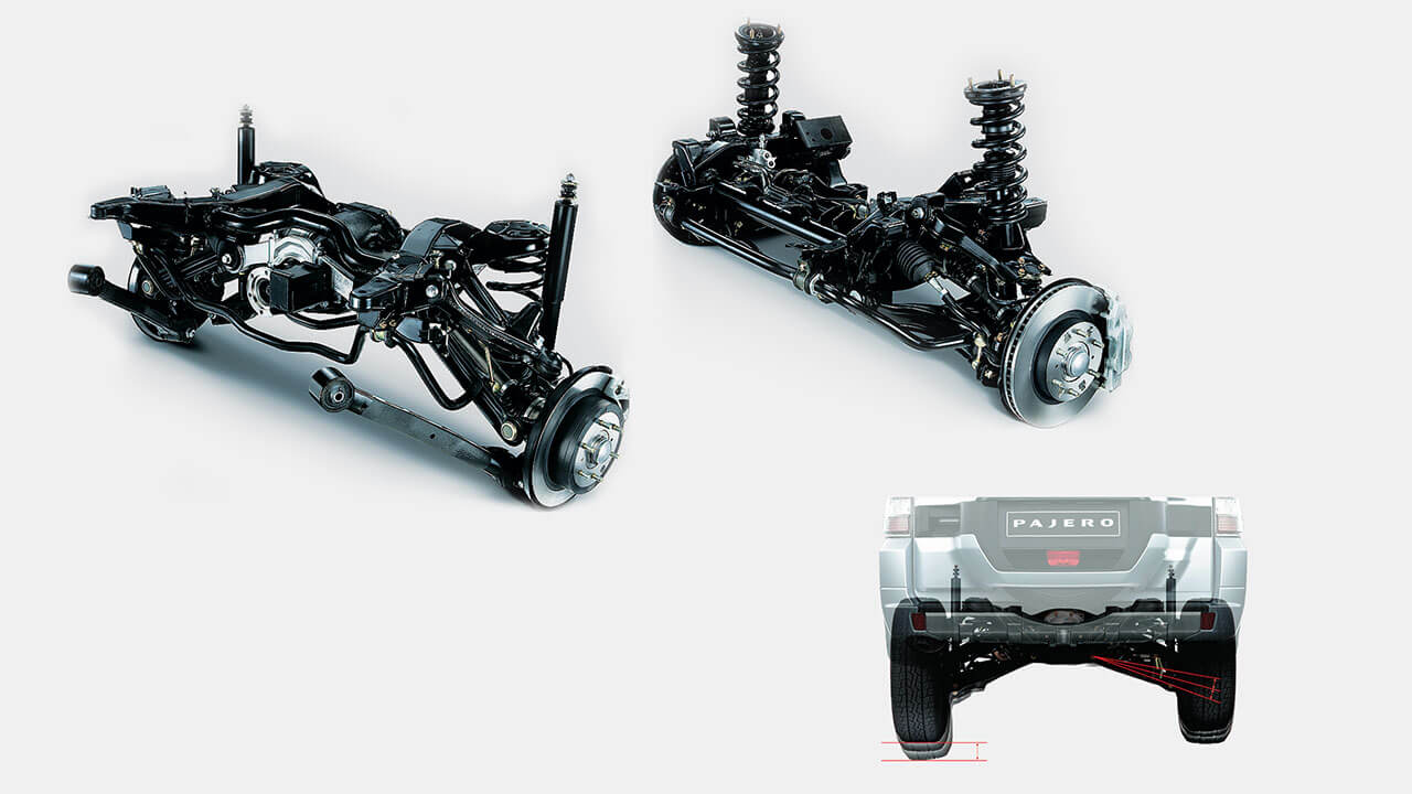 Independent 4-wheel Suspension System