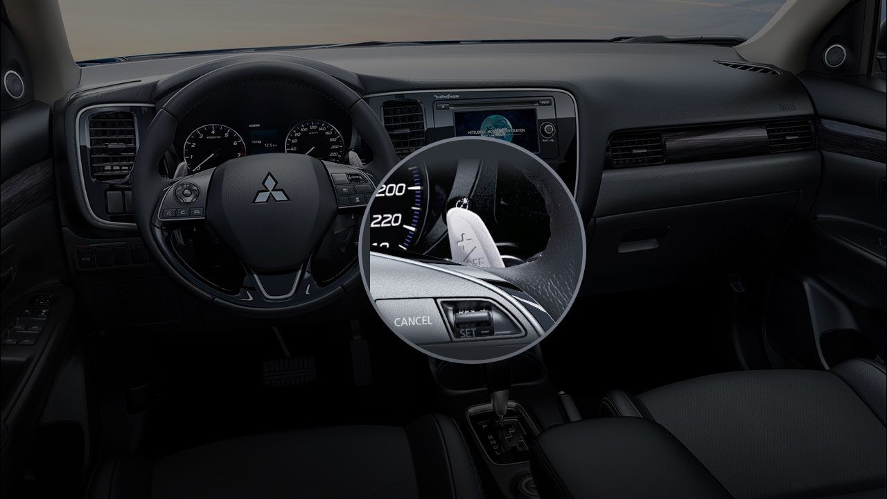Paddle-shifters on Steering-wheel