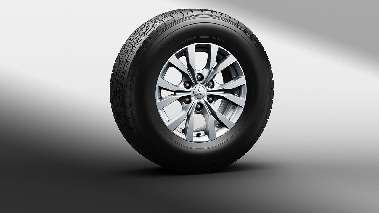 Multi-spoke alloy wheel
