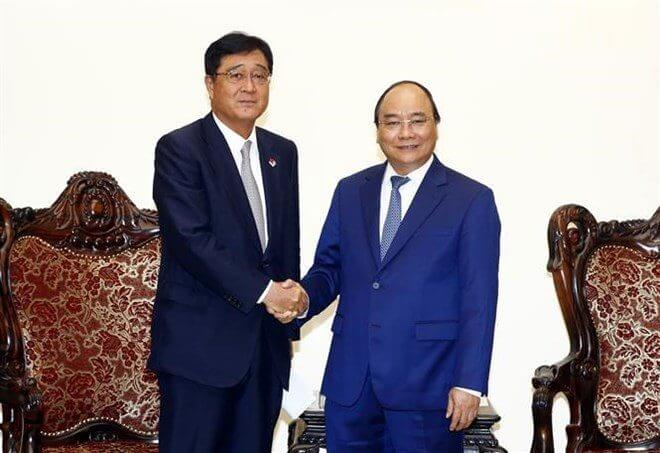 Mitsubishi Motors CEO meets the Vietnamese Prime Minister