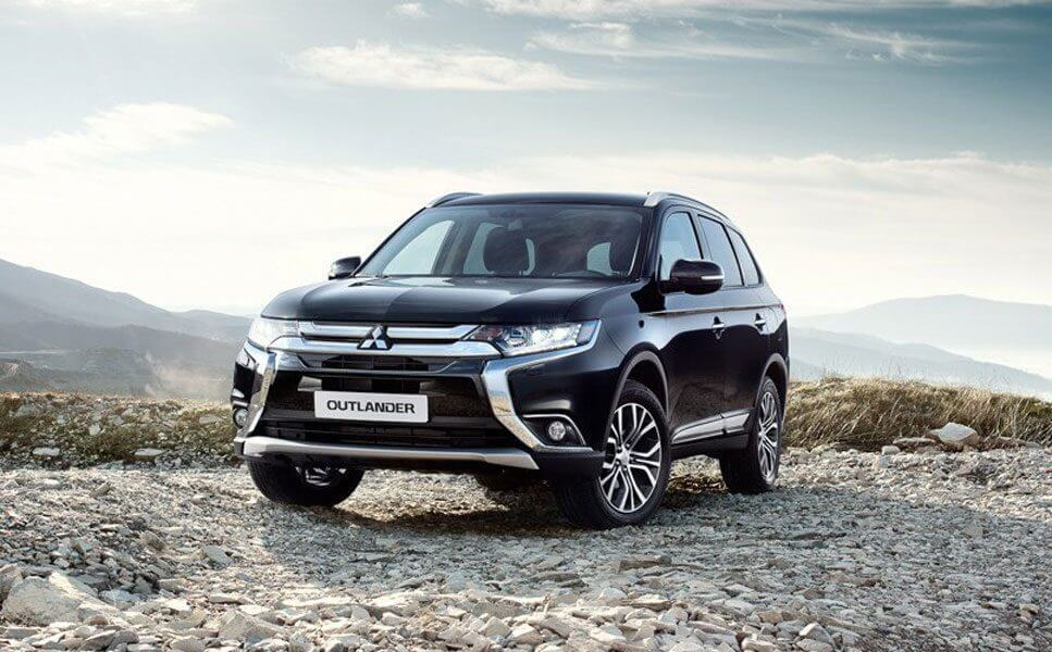 Display and test drive Mitsubishi vehicles in March 2018