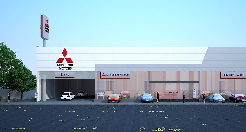 Mitsubishi Kim Liên Hà Nội (new dealer)