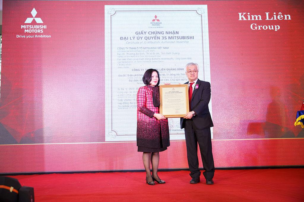 Đại lý Mitsubishi Kim Liên Quảng Bình chính thức khai trương