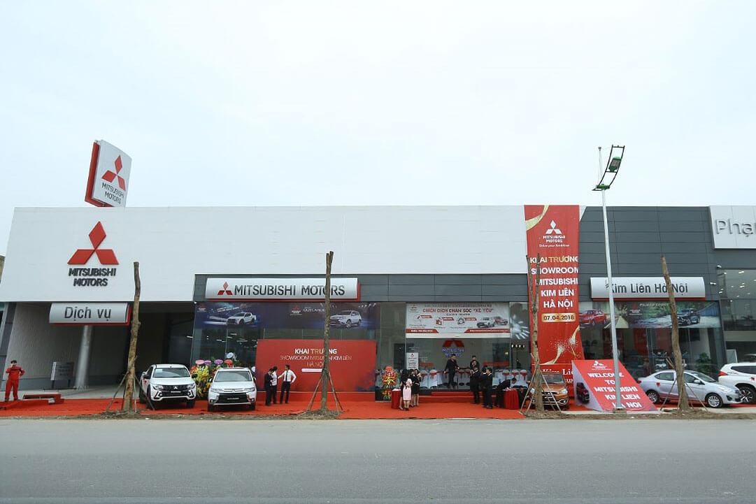 Mitsubishi Kim Liên Hà Nội chính thức khai trương