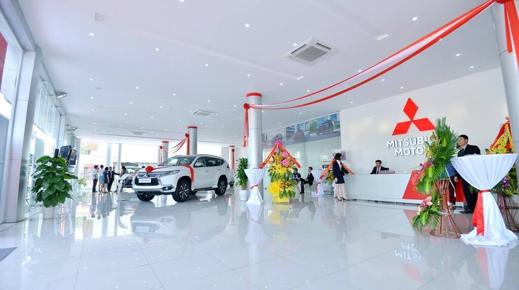 Đại lý Mitsubishi Thanh Hóa khai trương phòng trưng bày mới