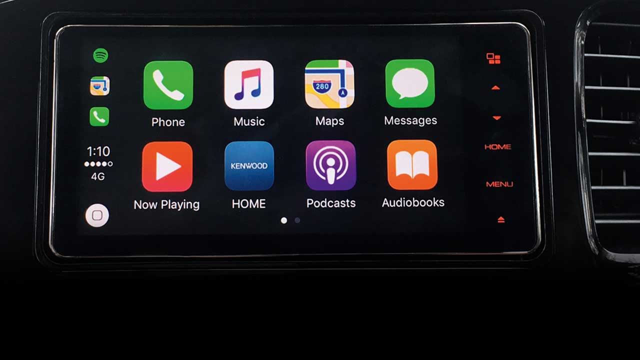 Audio Display with Apple Carplay & Android Auto