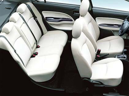 Comfort and spacious interior