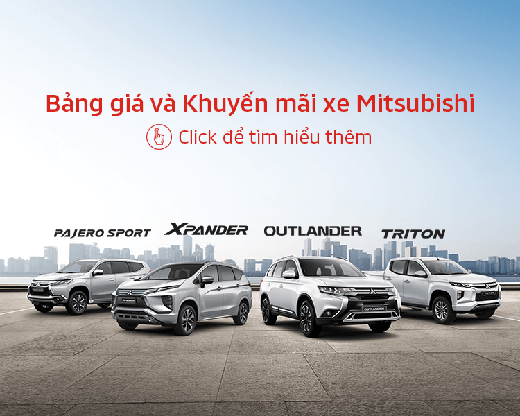 Price & promotion of Mitsubishi cars in Mar 2020