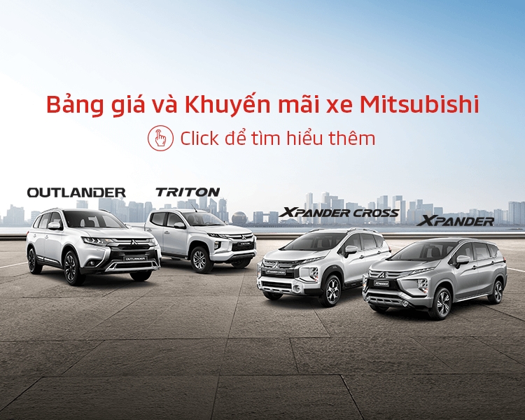 Price & promotion of Mitsubishi cars in Aug 2020