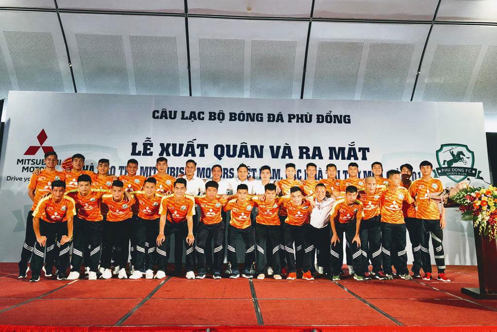 MMV tiếp tục đồng hành cùng CLB bóng đá Phù Đổng