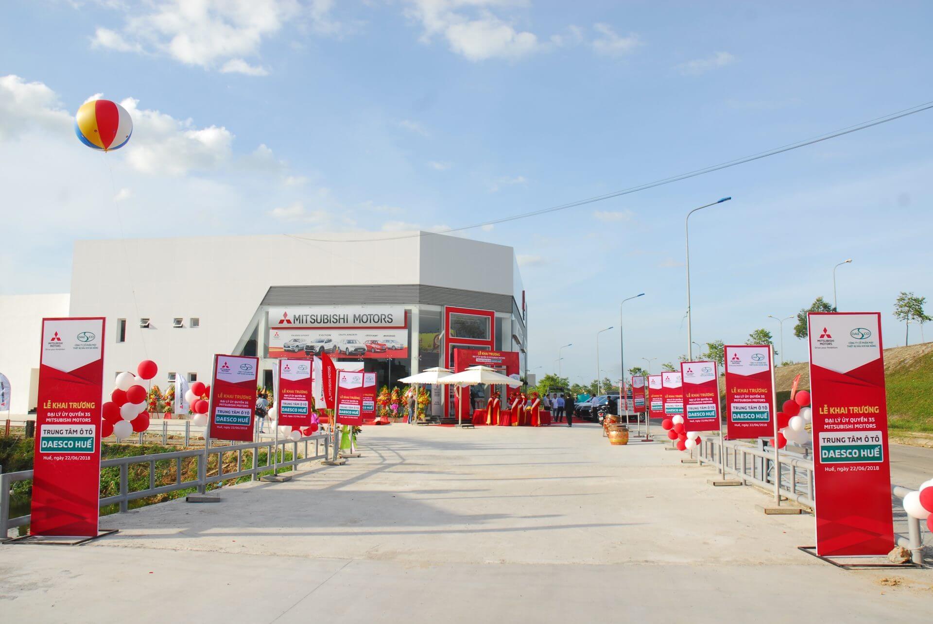 Mitsubishi Motors Vietnam khai trương đại lý mới tại Huế