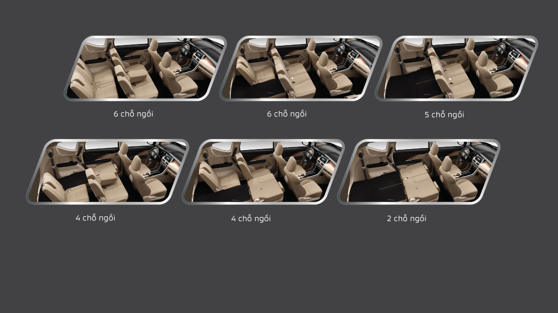7 flexible seat arrangements