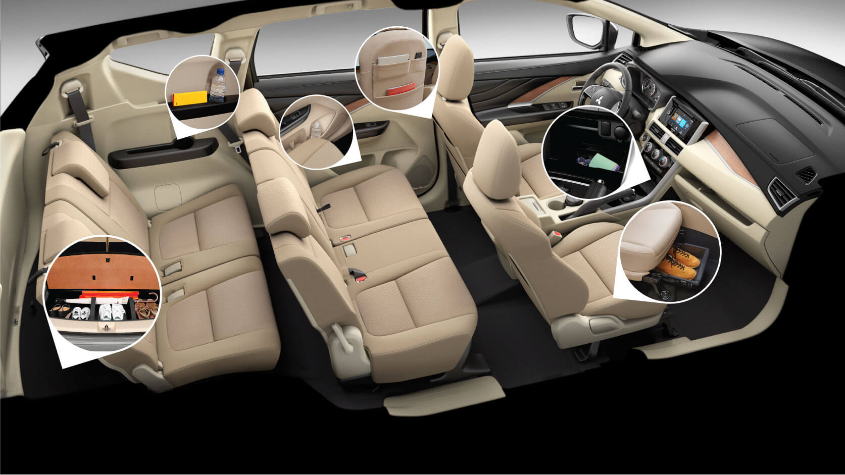 SPACIOUS & COMFORTABLE INTERIOR