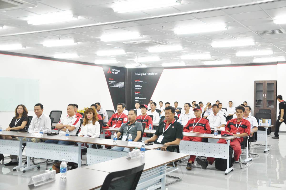 Hội thi kỹ năng Bán hàng và Dịch vụ Mitsubishi – 2018