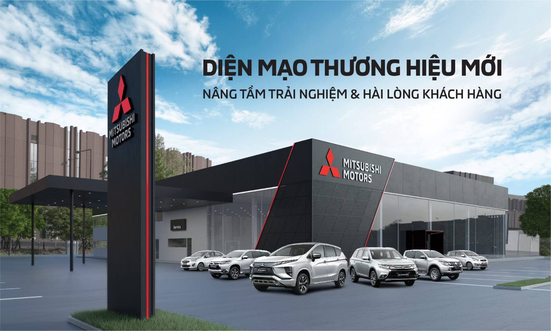 "[VMS2018] Mitsubishi Motors Vietnam introduces the new global message of ""Drive your Ambition"""