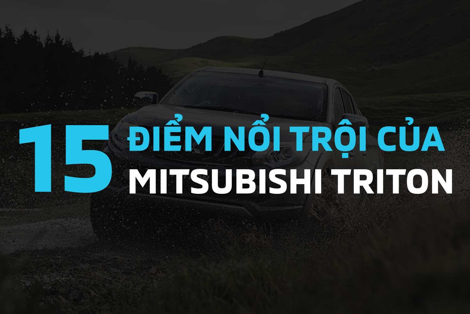 Mitsubishi Triton nổi trội với khả năng vận hành đỉnh cao