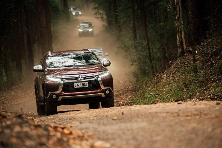 HỆ THỐNG SUPER SELLECT 4WD-II mitsubishi trung thuong triton pajero sport