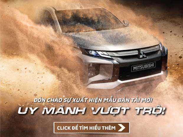 Mitsubishi Triton Mới – Uy Mãnh Vượt Trội