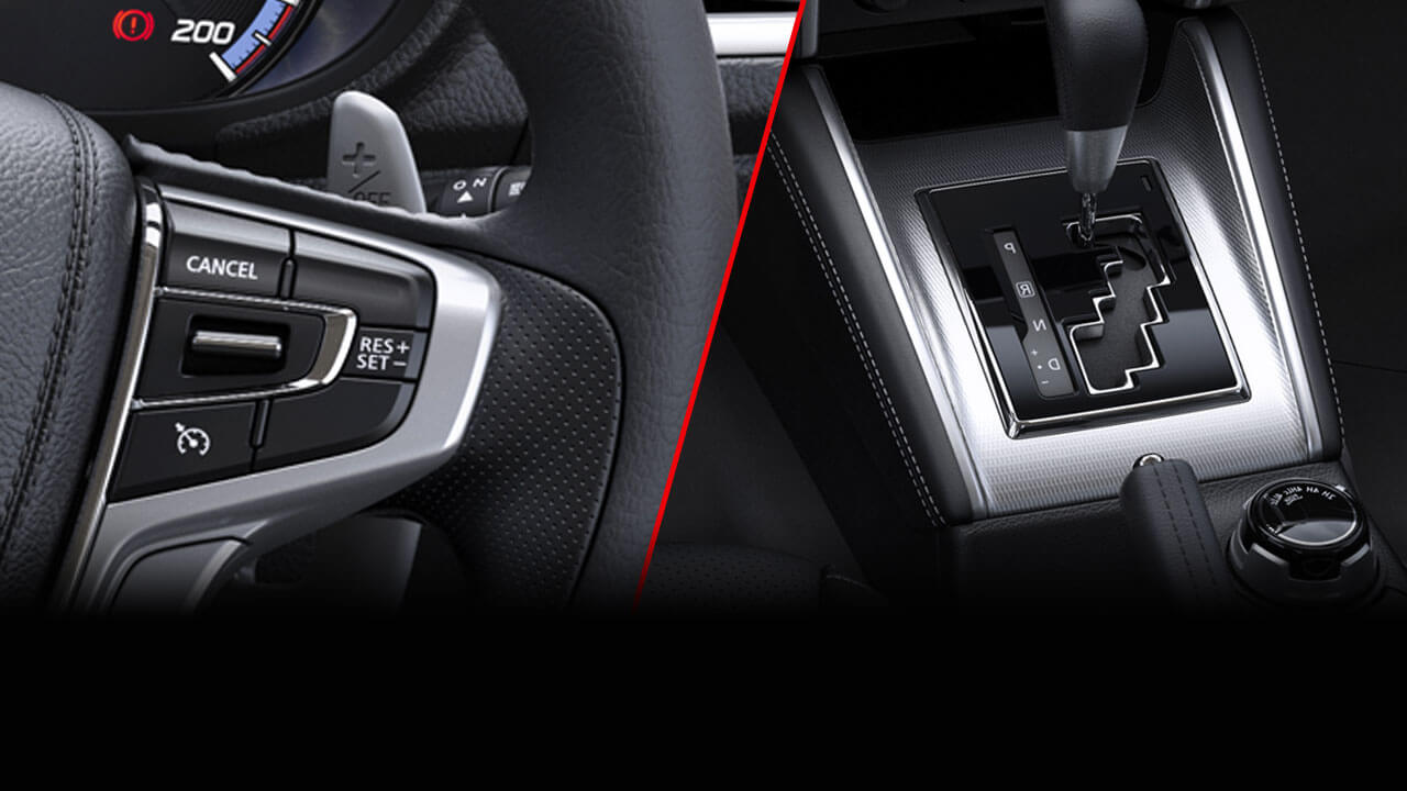 6-Speed Auto transmission with paddle shifters