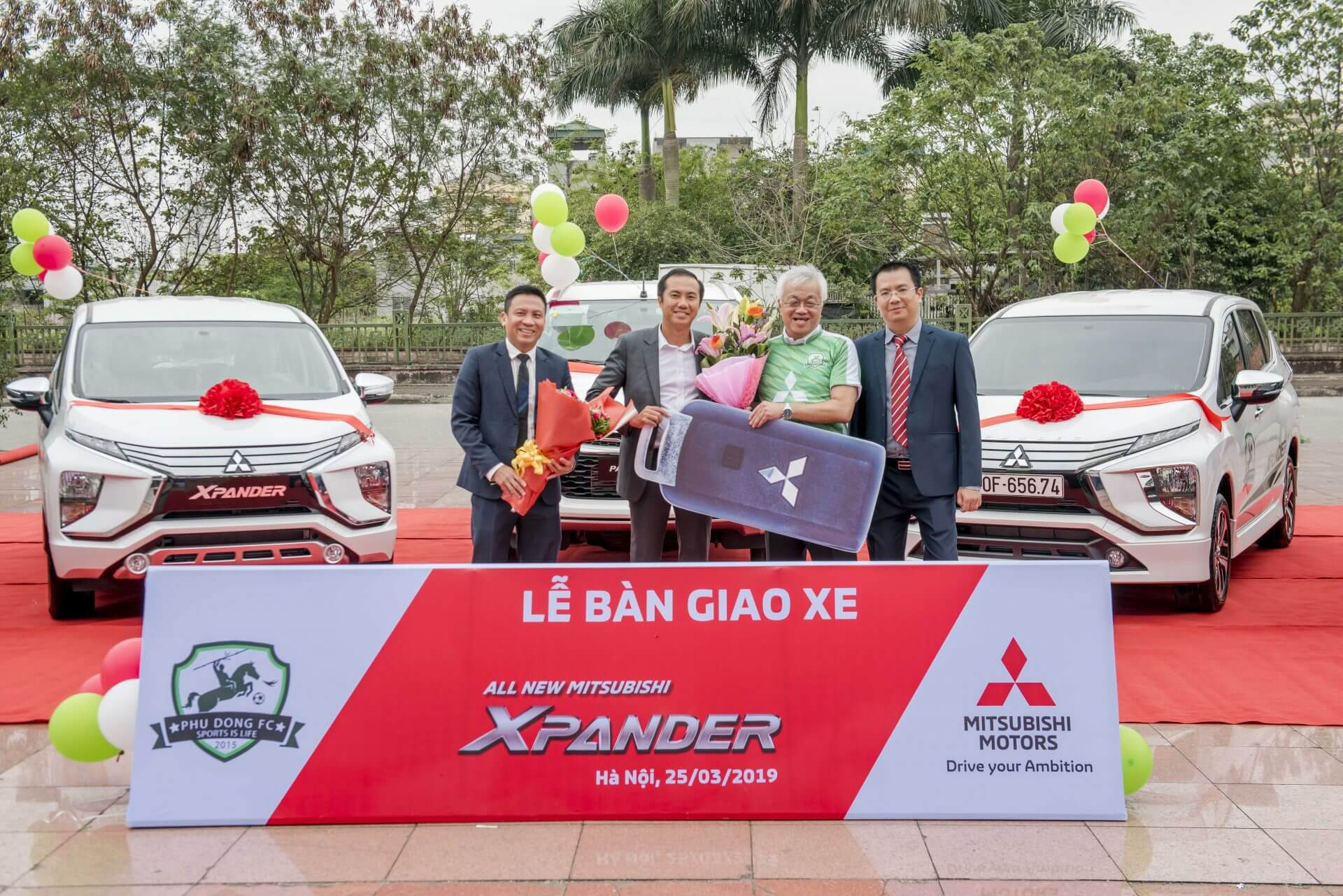 Mitsubishi Motors Việt Nam tiếp tục đồng hành cùng Đội bóng Phù Đổng mùa giải 2019
