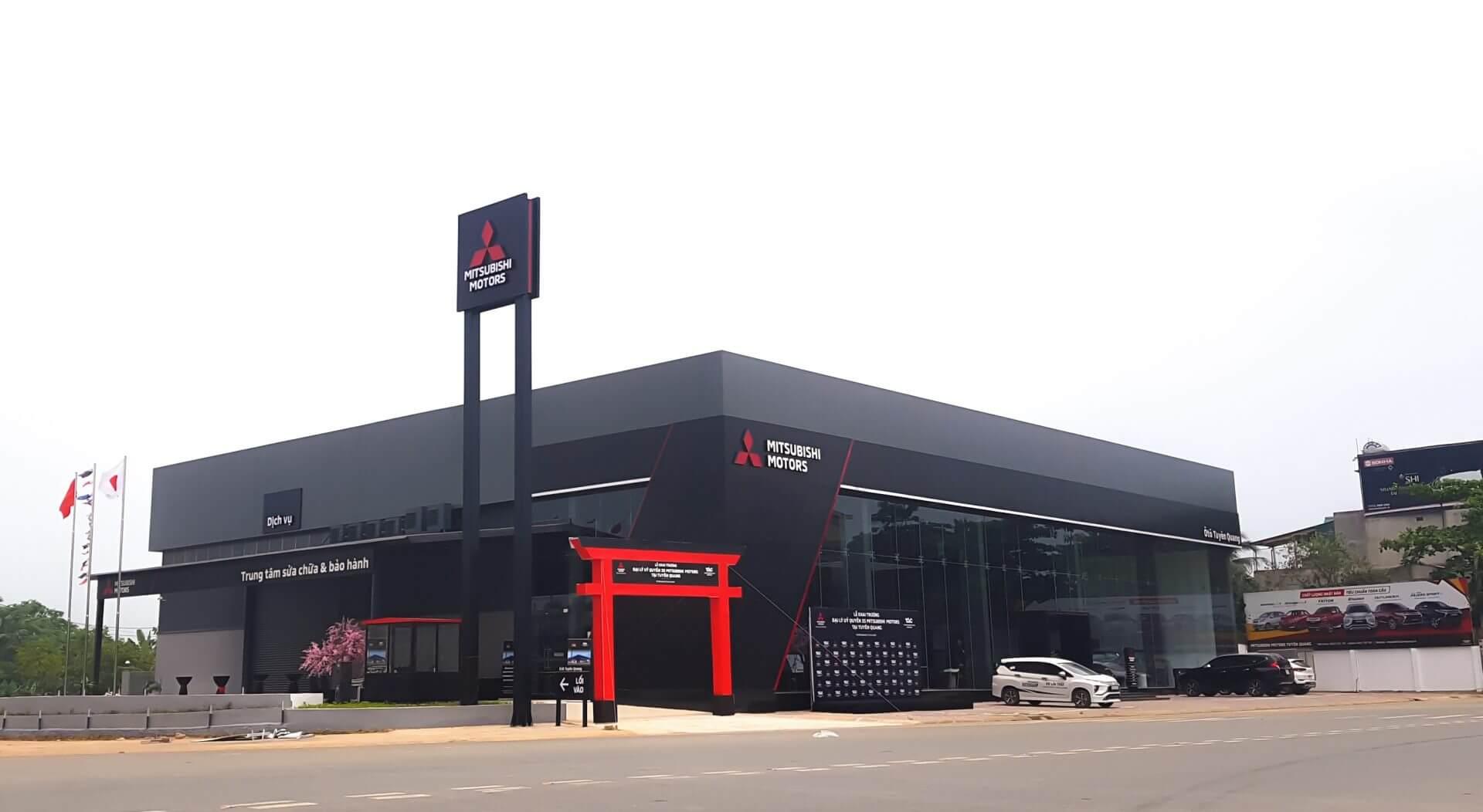 Đại lý Mitsubishi Tuyên Quang khai trương với nhận diện thương hiệu mới