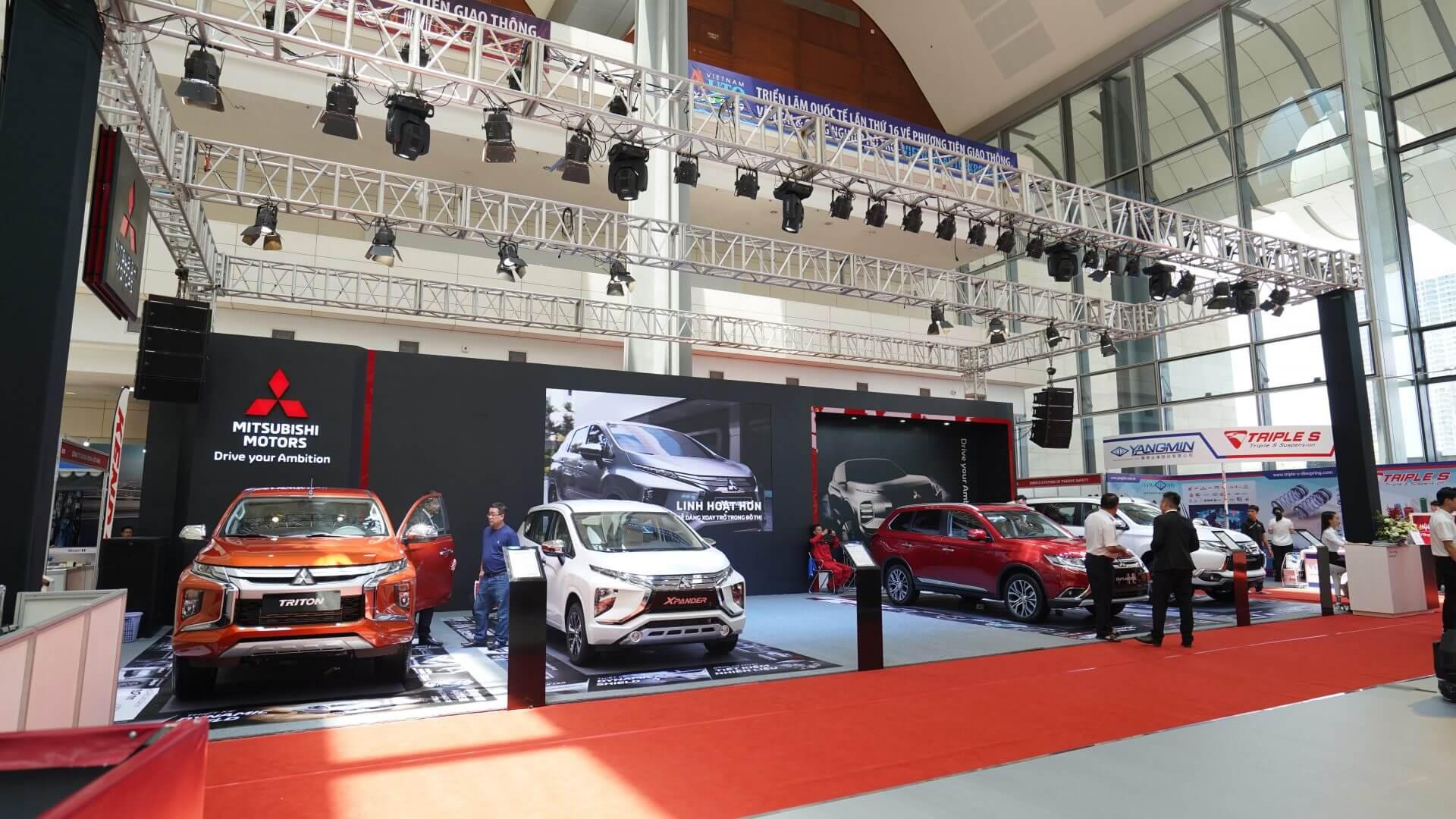 Mitsubishi Motors Việt Nam tham gia triển lãm Auto Expo 2019 tại Hà Nội