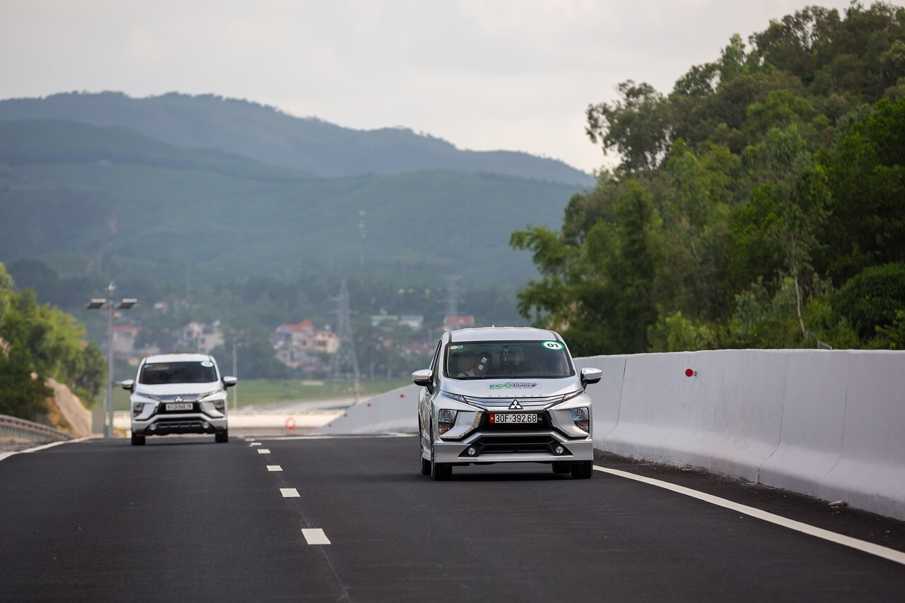 """Xpander chinh phục thử thách tiêu thụ chỉ 5.06L cho 100Km trong cuộc thi """"Lái xe tiết kiệm nhiên liệu – Eco Drive Challenge 2019"""" (*)"""