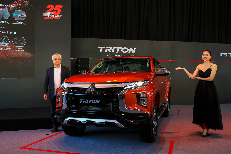 Mitsubishi Triton 2020 vừa mới ra mắt tại Việt Nam