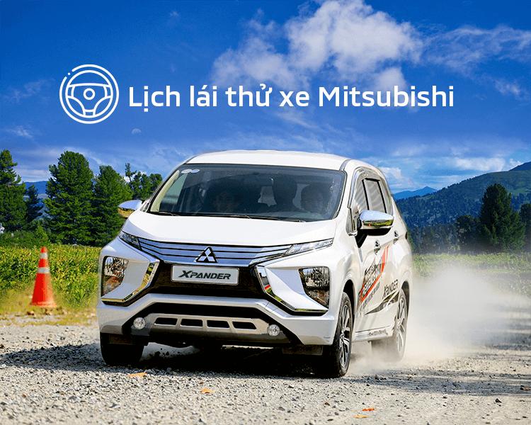 Lịch trưng bày và lái thử xe Mitsubishi tháng 03/2020