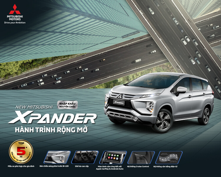 MITSUBISHI MOTORS VIETNAM OFFICIALLY INTRODUCED XPANDER 2020 WITH UPGRADED FEATURES