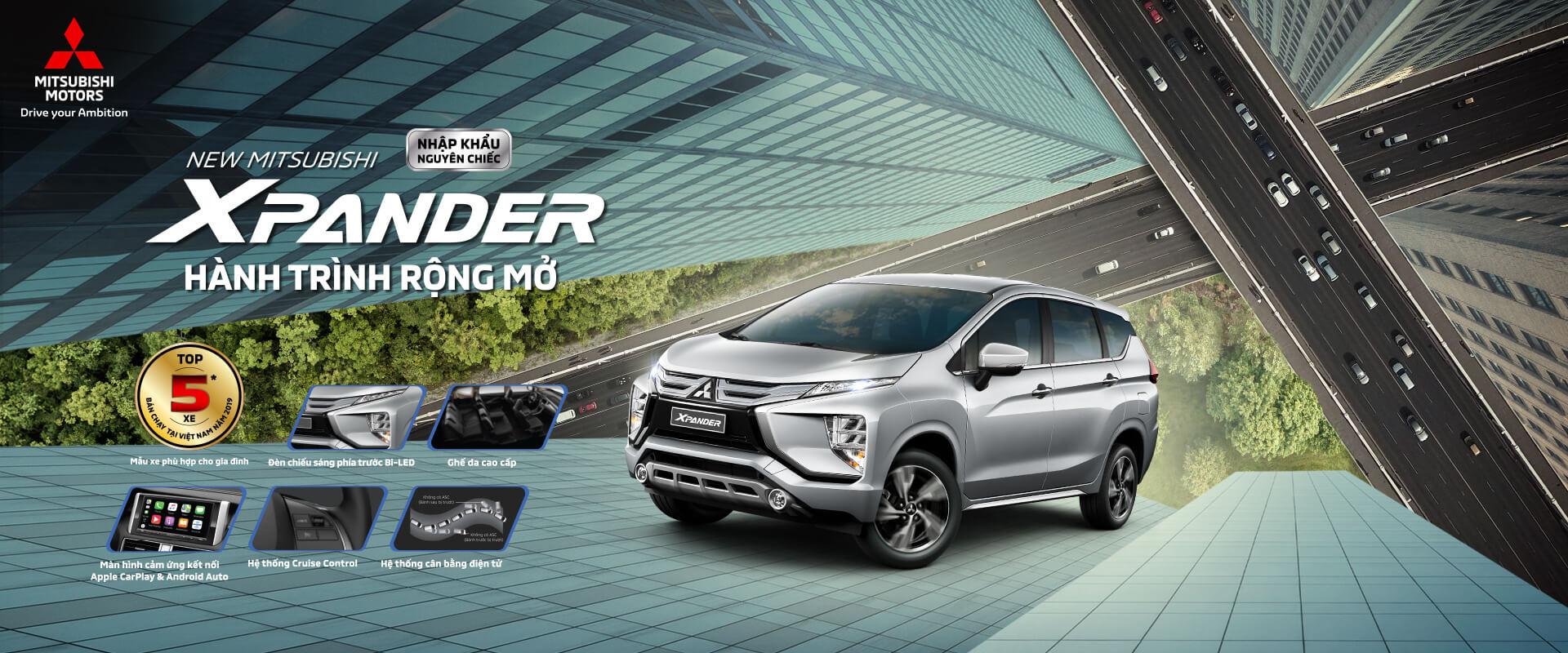 Mitsubishi Xpander - Hành trình rộng mở