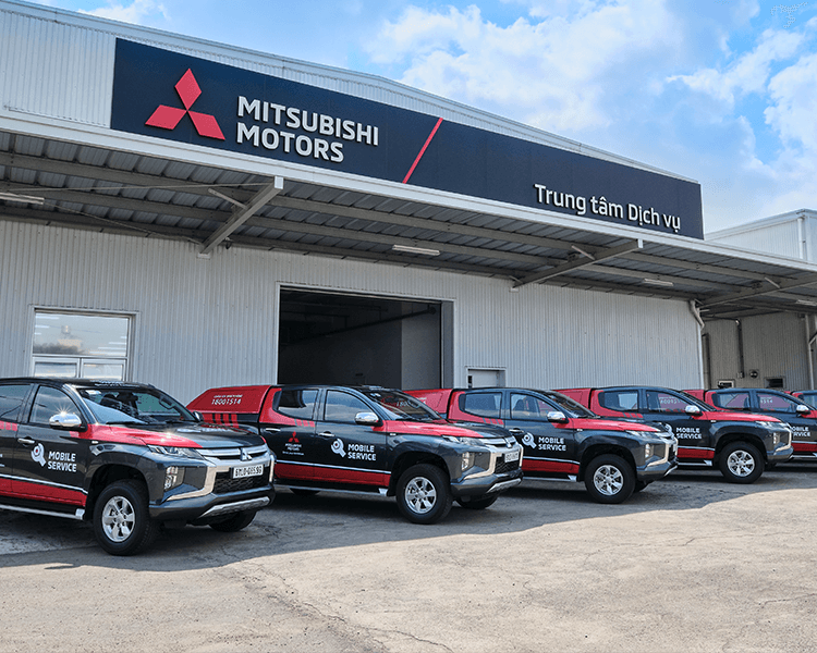 MITSUBISHI MOTORS VIETNAM INTRODUCES MOBILE SERVICE FOR CUSTOMERS