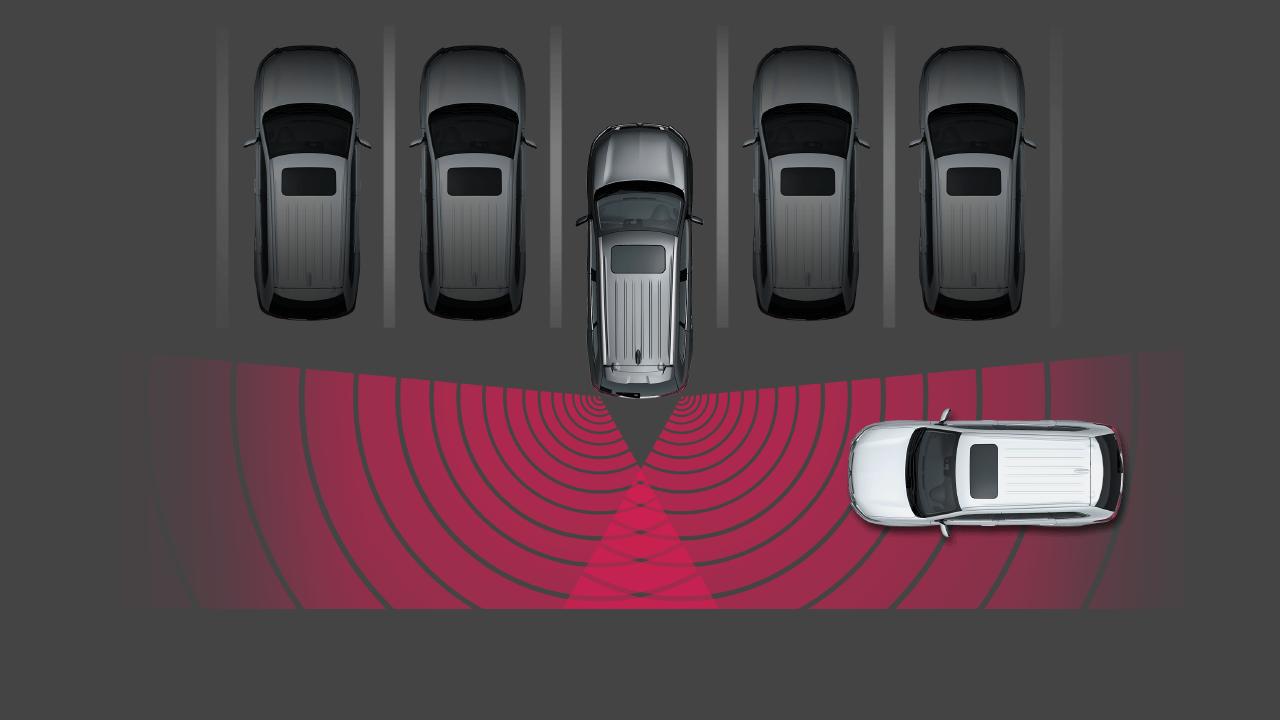 Hệ thống cảnh báo phương tiện cắt ngang khi lùi xe (RCTA)