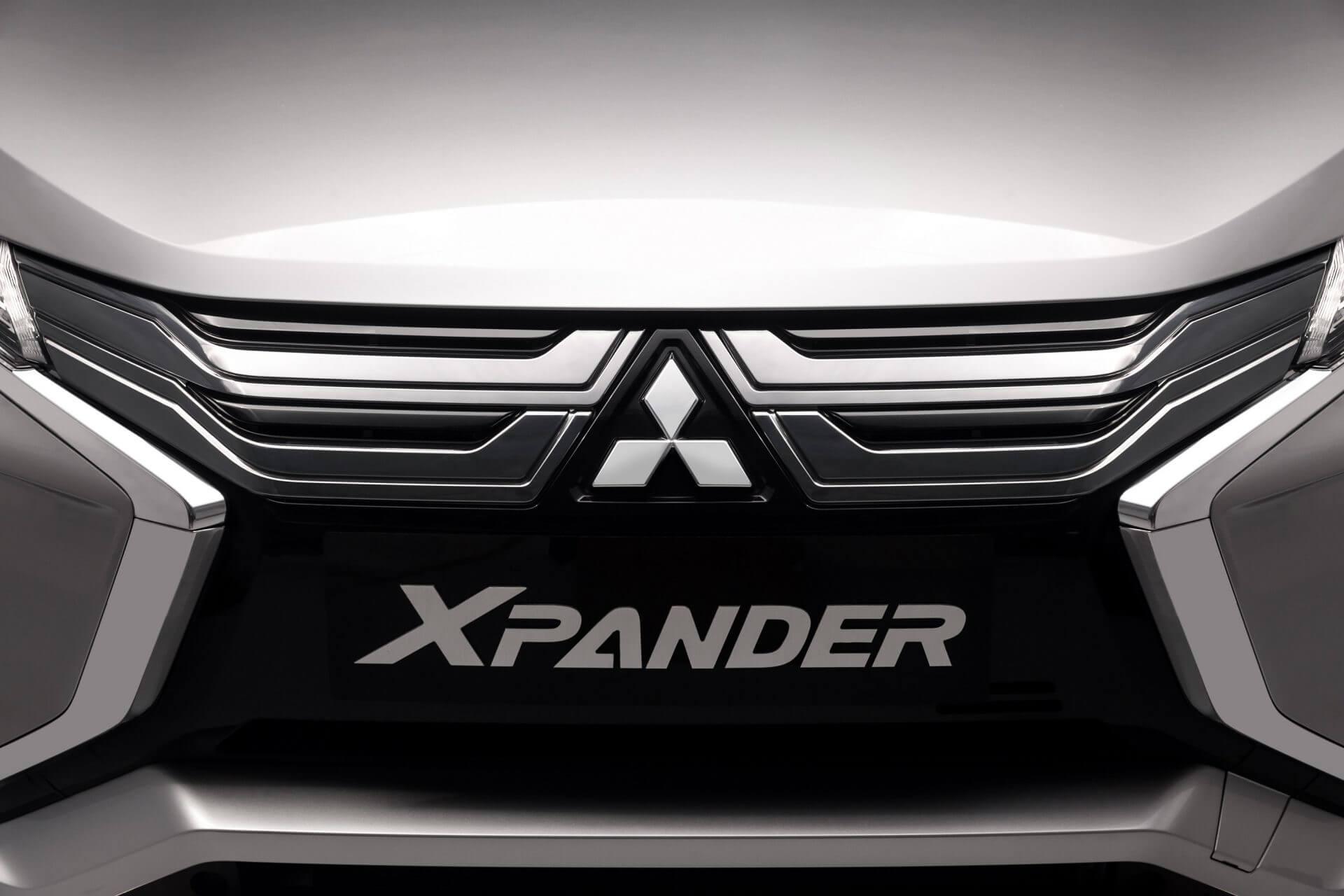 Phần đầu xe thể thao và mạnh mẽ của Mitsubishi Xpander