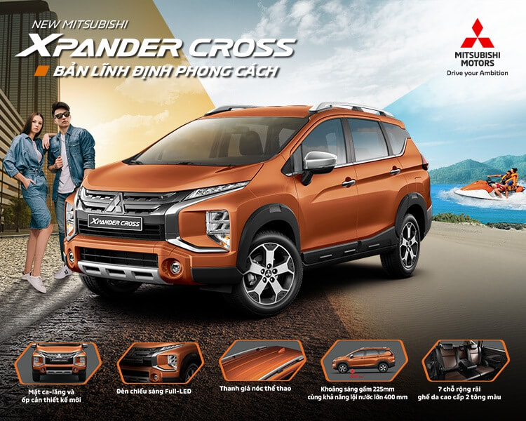 NEW MITSUBISHI XPANDER CROSS – BE COOL AT THE NEW LEVEL