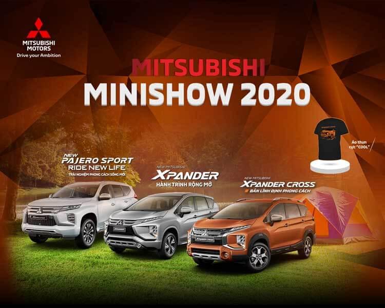 MITSUBISHI MINISHOW 2020 – CHUỖI SỰ KIỆN TRẢI NGHIỆM XE MITSUBISHI TẠI CÁC TRUNG TÂM THƯƠNG MẠI TRÊN TOÀN QUỐC