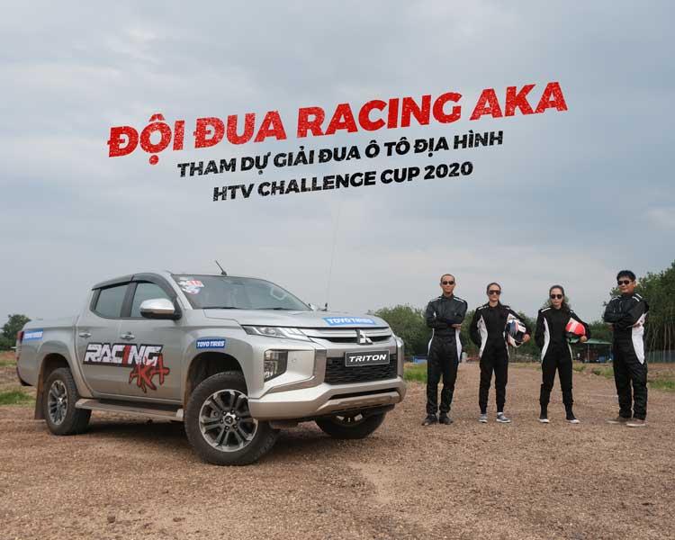 MITSUBISHI MOTORS VIỆT NAM ĐỒNG HÀNH CÙNG ĐỘI ĐUA RACING AKA THAM DỰ GIẢI ĐUA Ô TÔ ĐỊA HÌNH HTV CHALLENGE CUP 2020