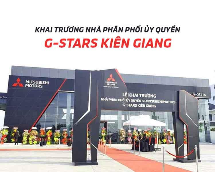 Nhà phân phối ủy quyền 3S G-Stars Kiên Giang chính thức ra mắt