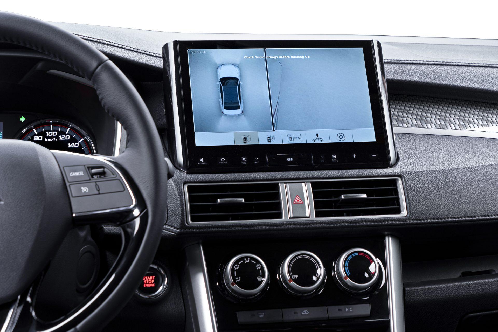 Hệ thống camera 360 được nâng cấp giúp vận hành xe an toàn hơn